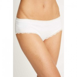 CULOTTE LACE HIPSTER BLANC