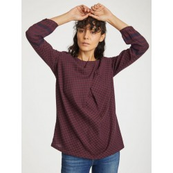 TOP DITTE GARNET RED