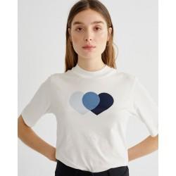 T-SHIRT BLUE HEARTS