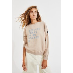 SWEAT CERVINO BEIGE