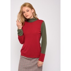 PULL CHAUSSETTE BICOLOR