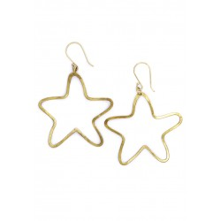 BOUCLE D'OREILLE STARS LAITON